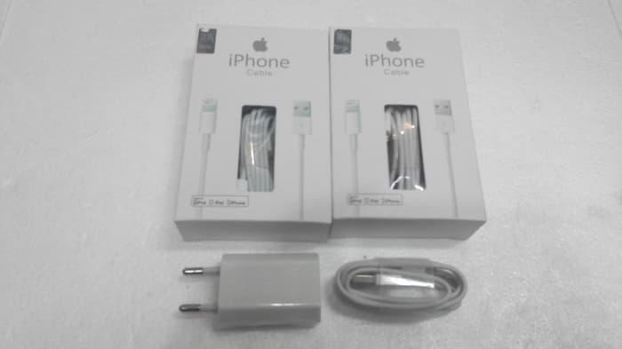 Charger + Kabel Data charger iPhone 5 / 5G / 5S / IPad Mini Ori 99%  / Aneka Charger Apple Terbaru / Cas HP Iphone Murah / Charger Kabel Iphone Asli Murah Terlaris