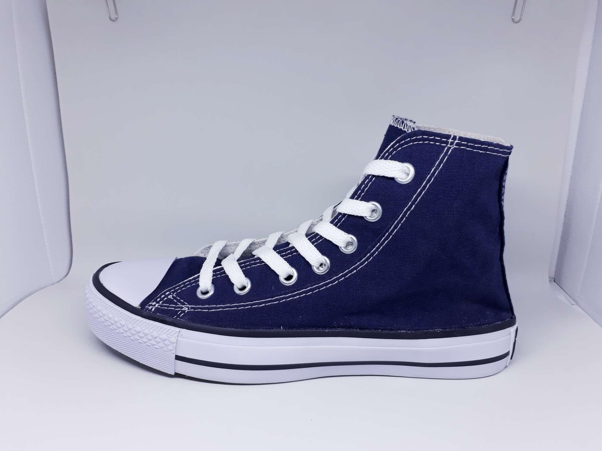 Sepatu Converse Ct All Star Classic Hi Navy