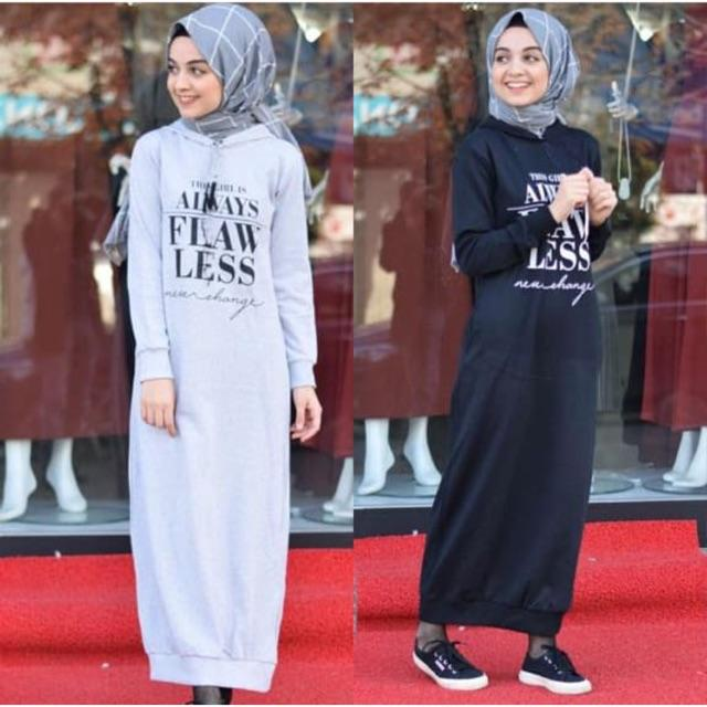 Damai fashion Jakarta - baju muslim hijab wanita HENNY hoody - konveksi termurah