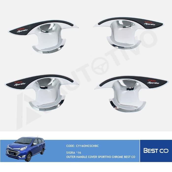 BestCo Mangkok Pintu Mobil Daihatsu Sigra Model Sportivo Outer Handle