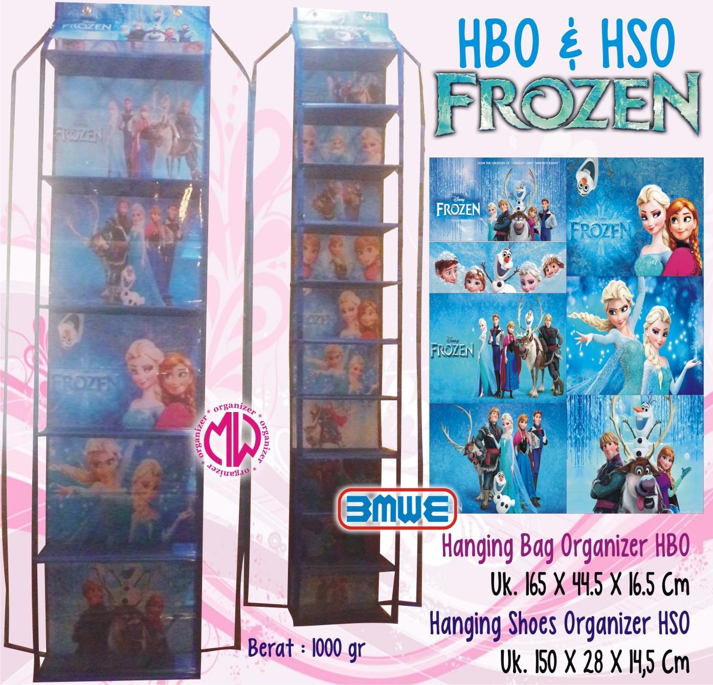 Jual Produk Rak Tas Sepatu Murah Daftar Harga Spesifikasi Set Hijab 1 Hboz Hsoz Gantung Resleting Frozen