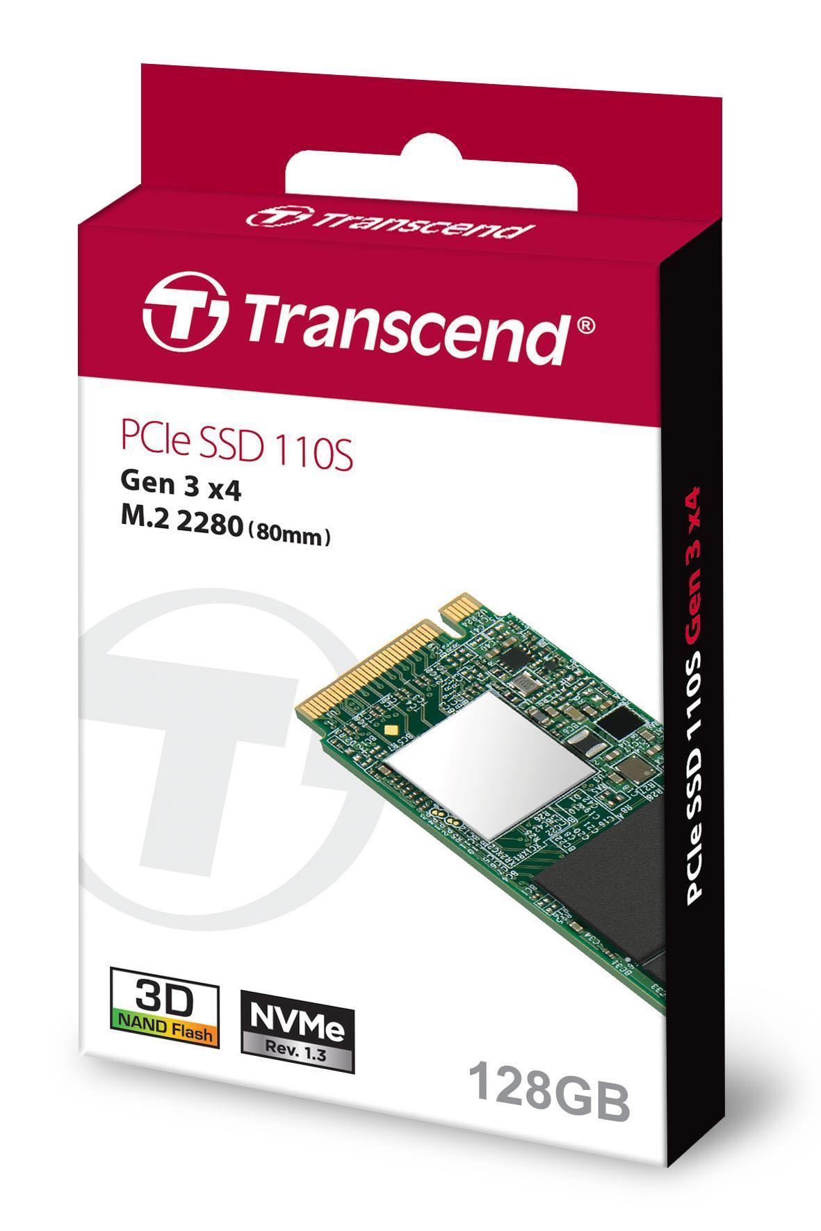 Transcend MTE110S 128GB SSD [128 GB/ M.2/ 2280/ NVME]