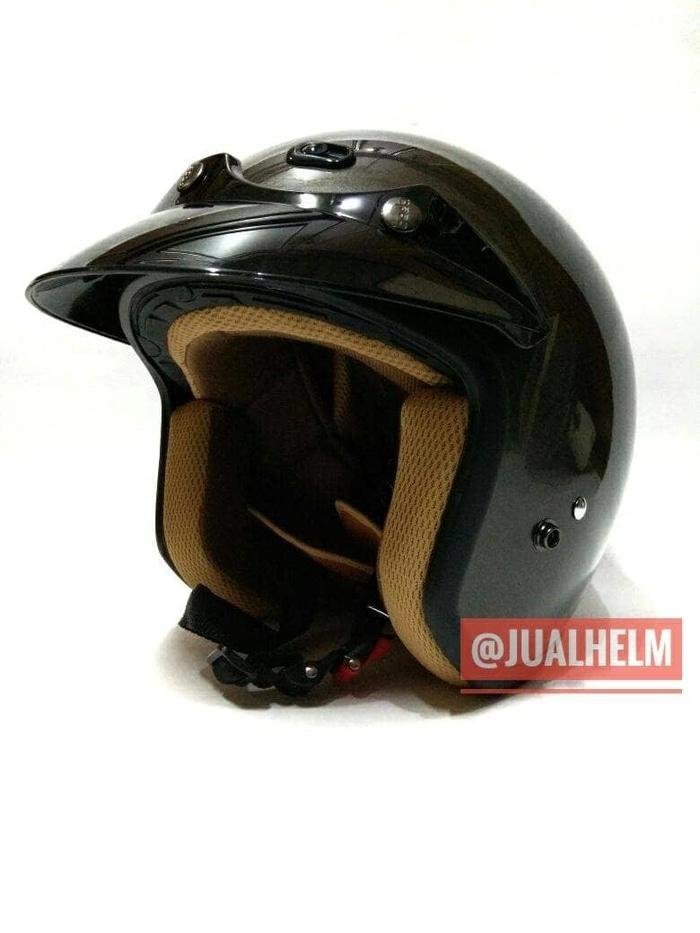 Helm Retro/Helm Classic/Helm Bogo/Helm Vespa Ava Dark Grey