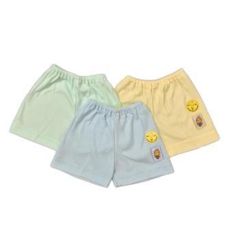 Pencari Harga Happiness Babyshop Piyama - SACHIBEE Celana Pendek Bayi Baby / Anak - Warna (3 pcs) terbaik murah - Hanya Rp26.353
