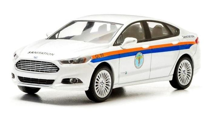 TERLARIS  Greenlight 2013 Ford Fusion DSNY