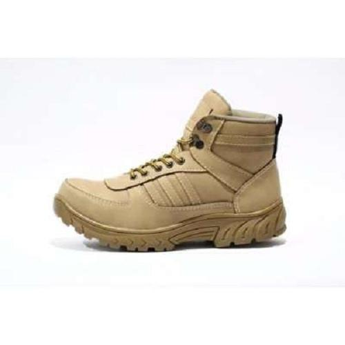 SEPATU BOOT PRIA SAFETY GRANDE California Safety Tracking Hiking And Touring - Cream