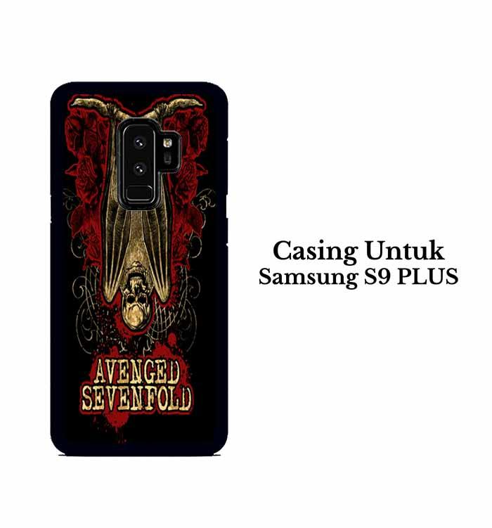 Casing Samsung S9 Plus Avenged Sevenfold A7X Custom Hard Case Cover