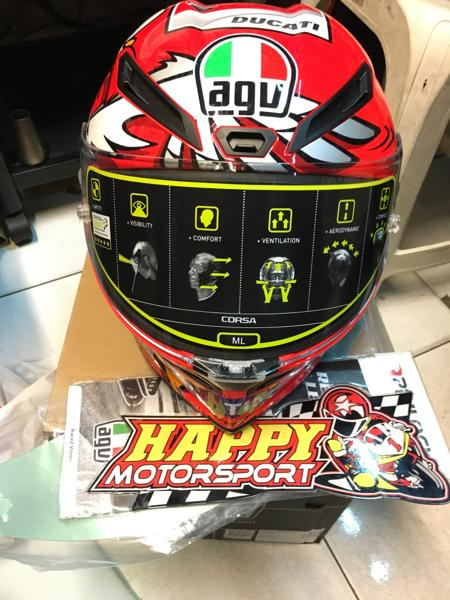 Helm AGV Corsa Ianone Italy Limited Edition size