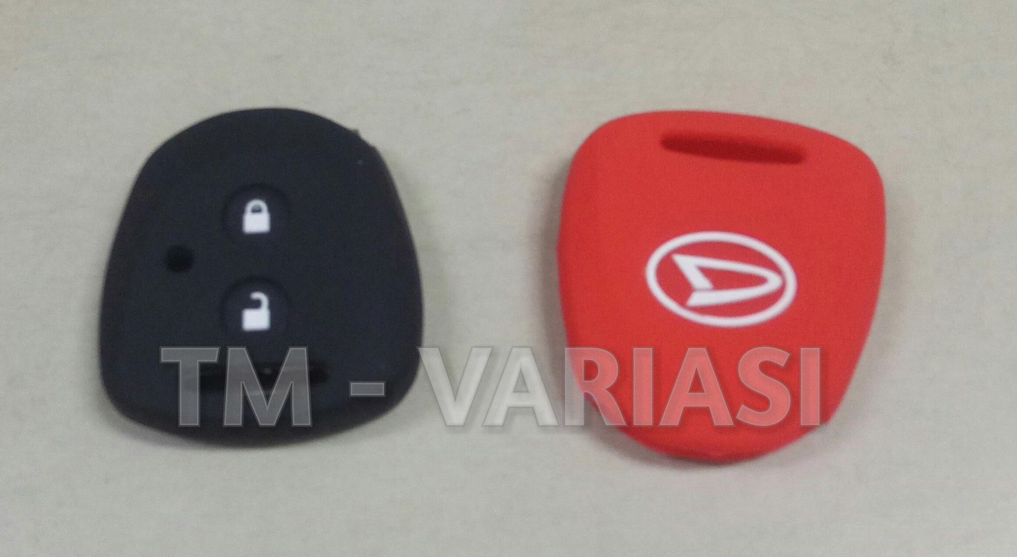 Silikon Cover Kondom Remote Kunci Daihatsu Sigra Xenia