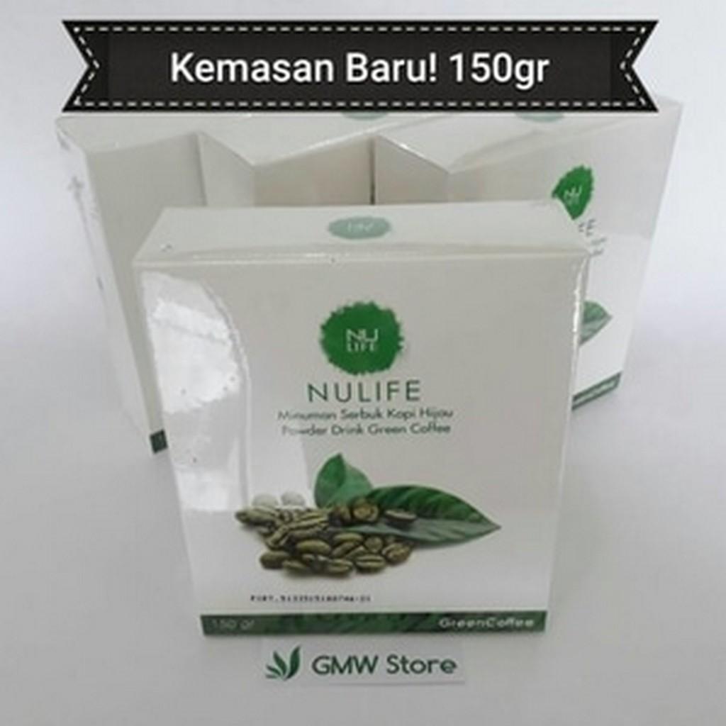 List Harga Pelangsing Nulife Terbaru Agen Fiforlif Online Kopi Hijau Green Bean Coffee Natural Fat Burner 250 Gram Original Diskon