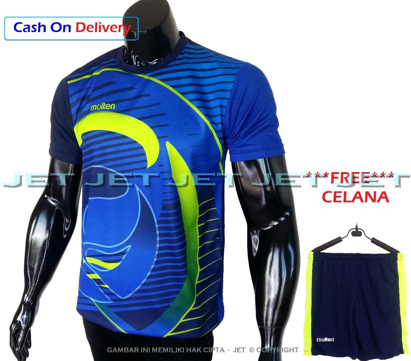Pakaian Baju Olahraga Pria Paket Celana Sepeda Dan Jersey Downhill Cross Premium Jet Sports Stelan Kaos M L Xl Dri Fit Sport Replica