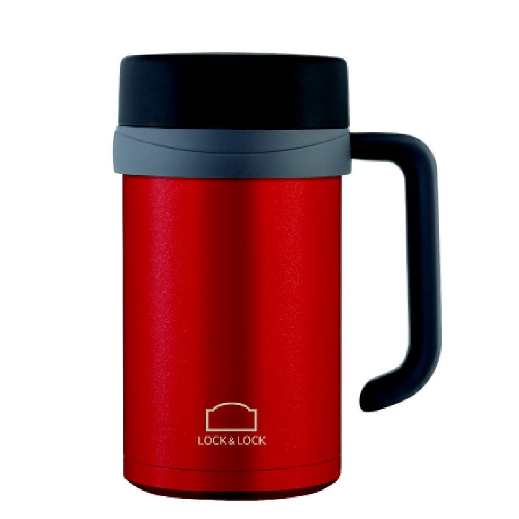 Lock&Lock New Model Basic Table Mug Hot&Cool Gelas Tumbler Termos Tahan Suhu Panas Dingin 500ML