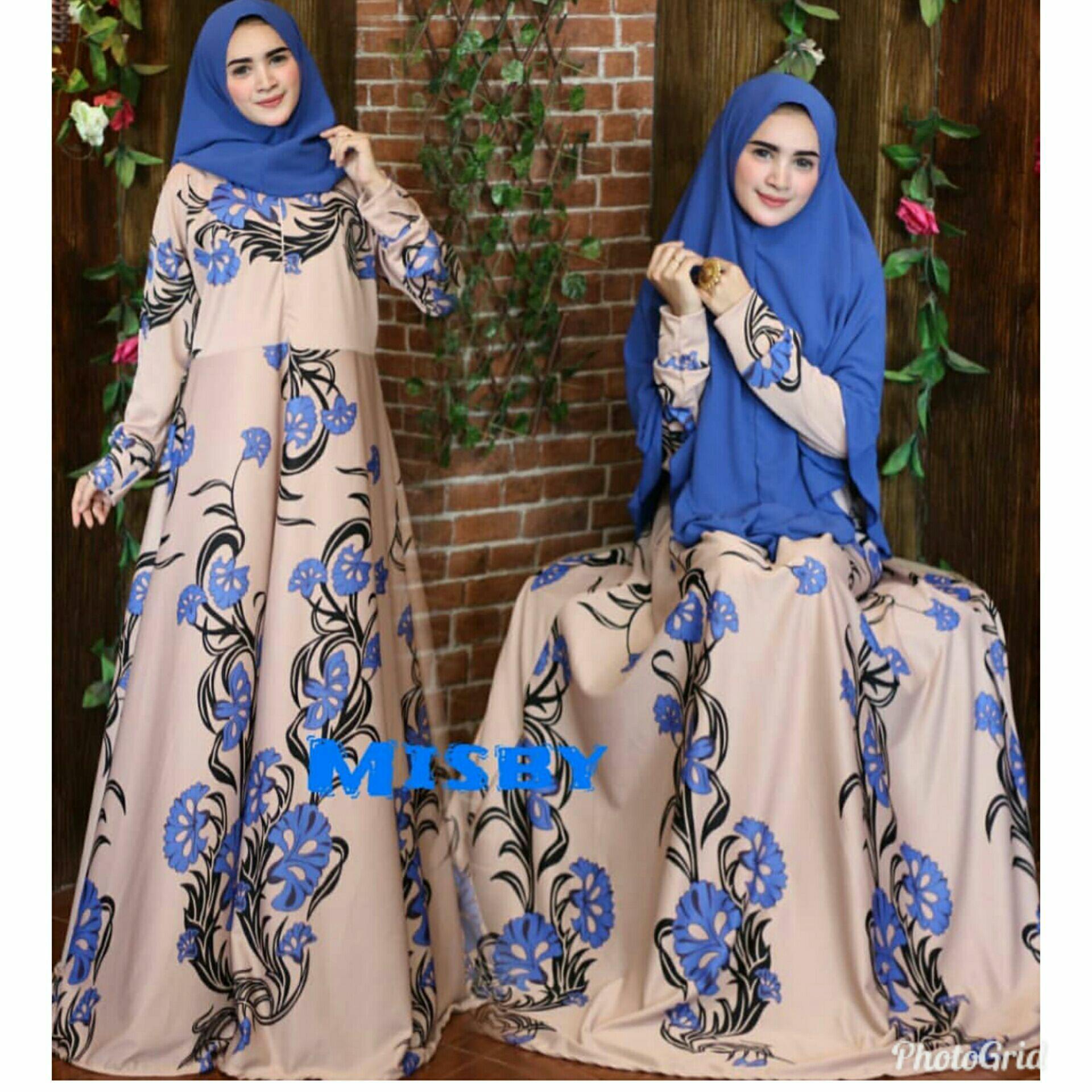 Nurul Collection Baju muslim wanita murah gamis syari dress muslim gamis busui .