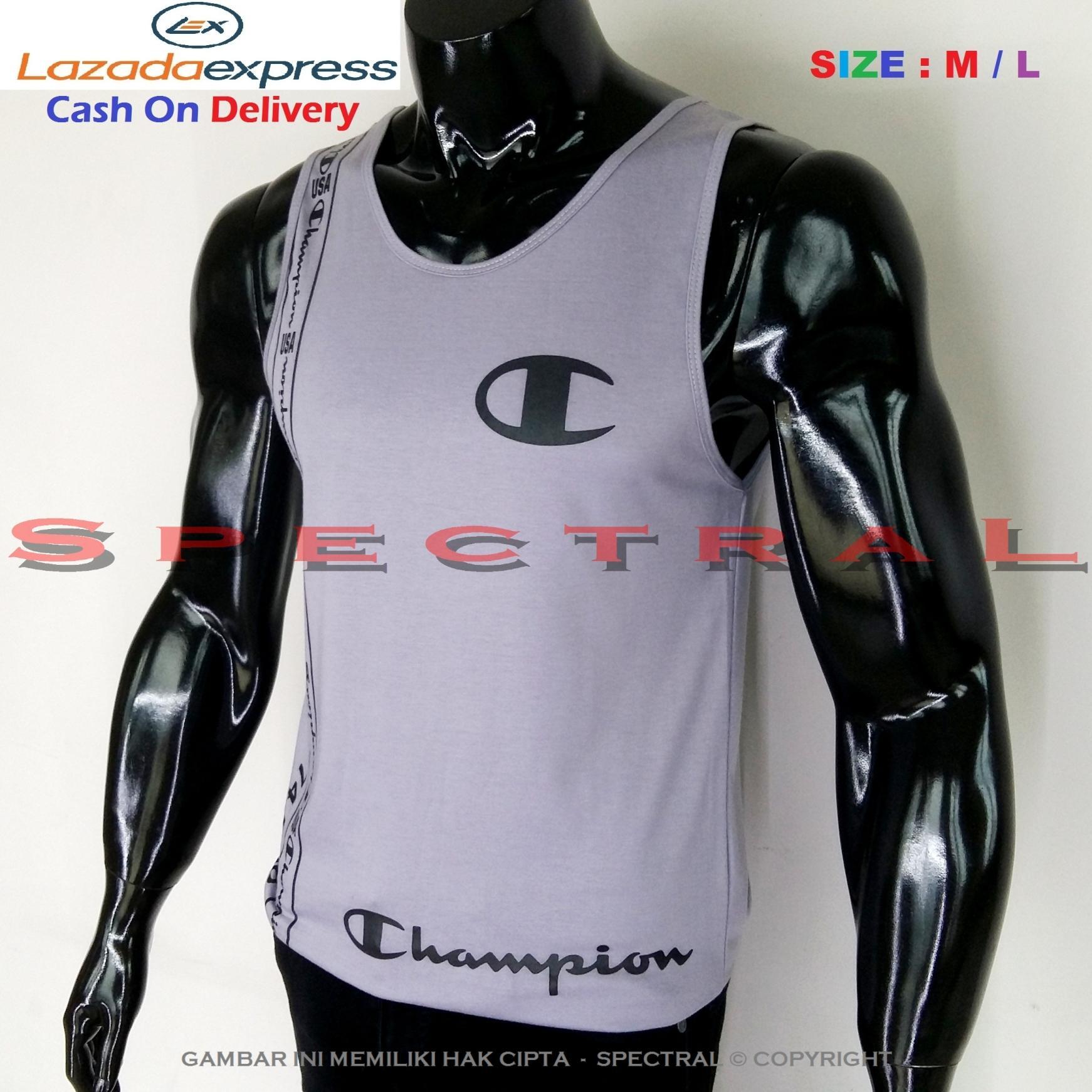 Spectral – Singlet Champion M / L Soft Cotton Combed 30s Abu