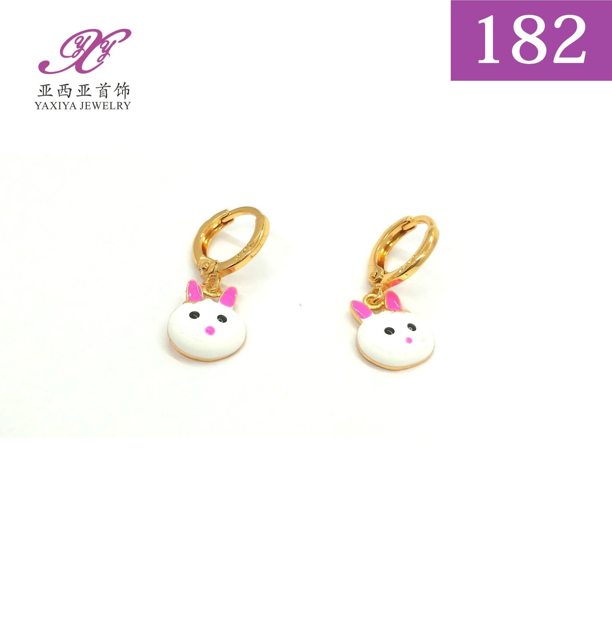Anting Anak Lapis emas Perhiasan imitasi Gold 18k Yaxiya Jewelry 182