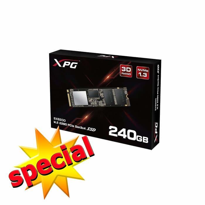 SSD M2 2280 ADATA XPG 240GB SX8200 PCIe GEN - ADATA 240GB XPG SX8200 M.2 SSD, M.2 2280