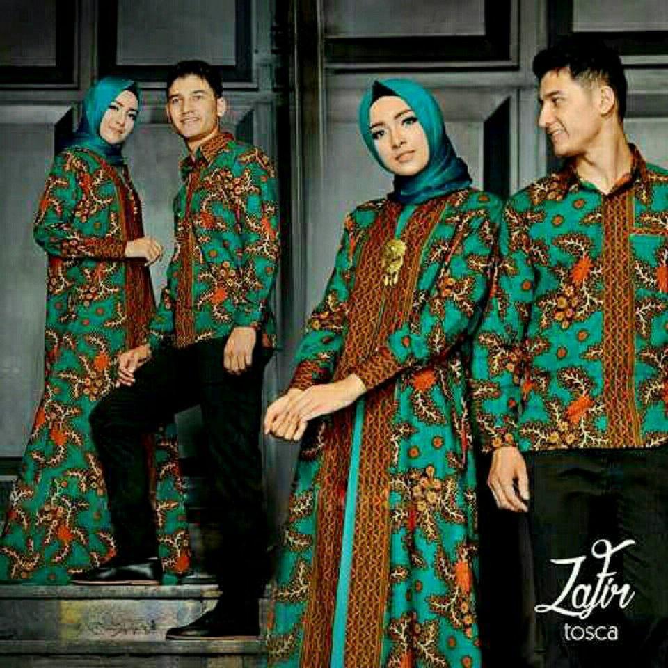 legiONshop-busana muslim couple  baju muslim  muslim wear  baju pasangan  maxi couple muslim ZAFIR 3in1 (sudah harga pria dan wanita)