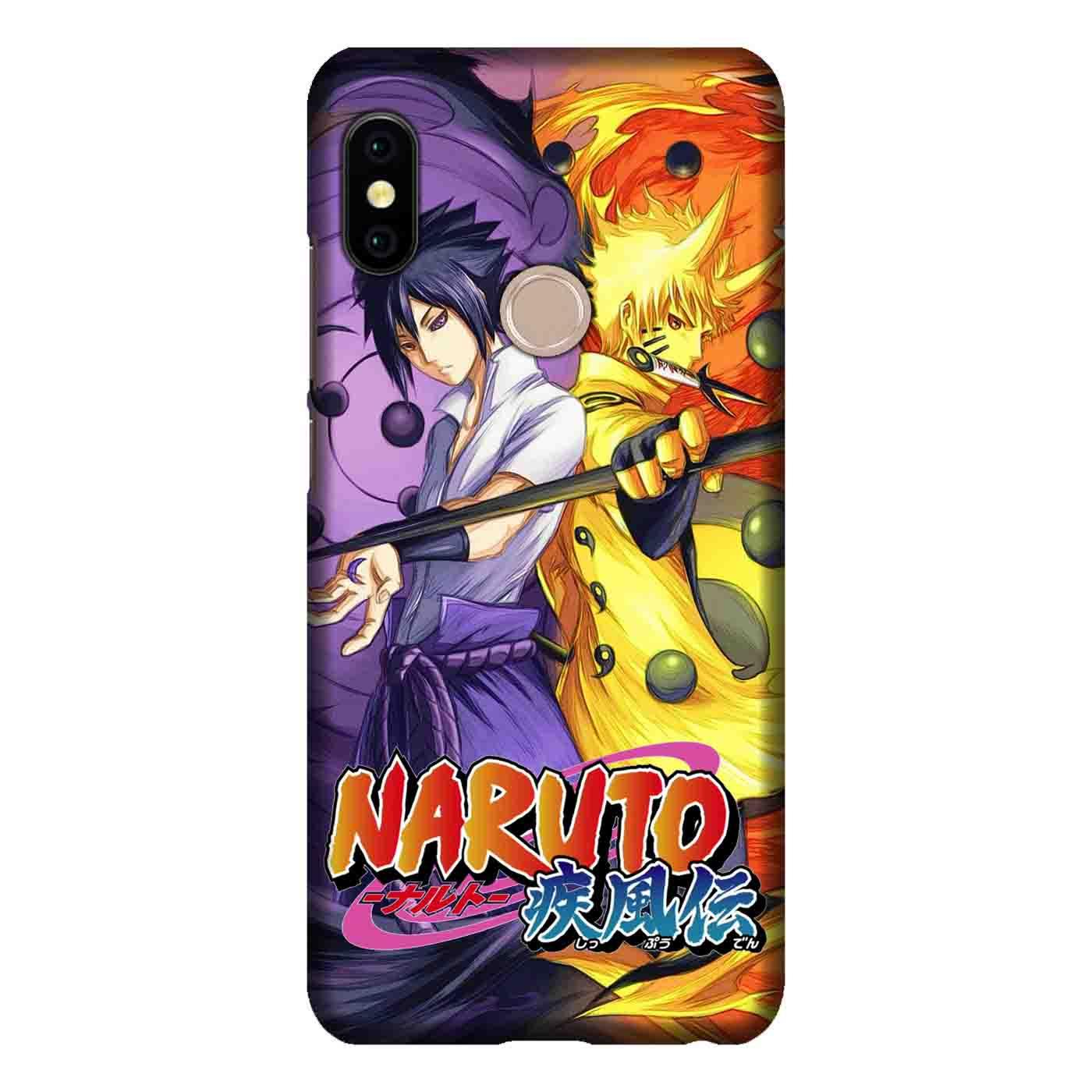 Casing Custom Hardcase Untuk Handphone Xiaomi Mi A2 Lite / Redmi 6 Pro Bergambar Motif Naruto Kyubi 4 Case