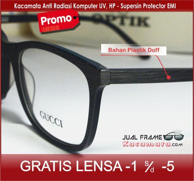 Frame kacamata 1327 + lensa minus/plus/silinder kacamata baca gaya untuk pria dan wanita