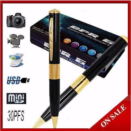 Mini Spy Pen HD Video Hidden Camera Pulpen kamera / SPY Cam Pen BPR 6 / Kamera Pengintai