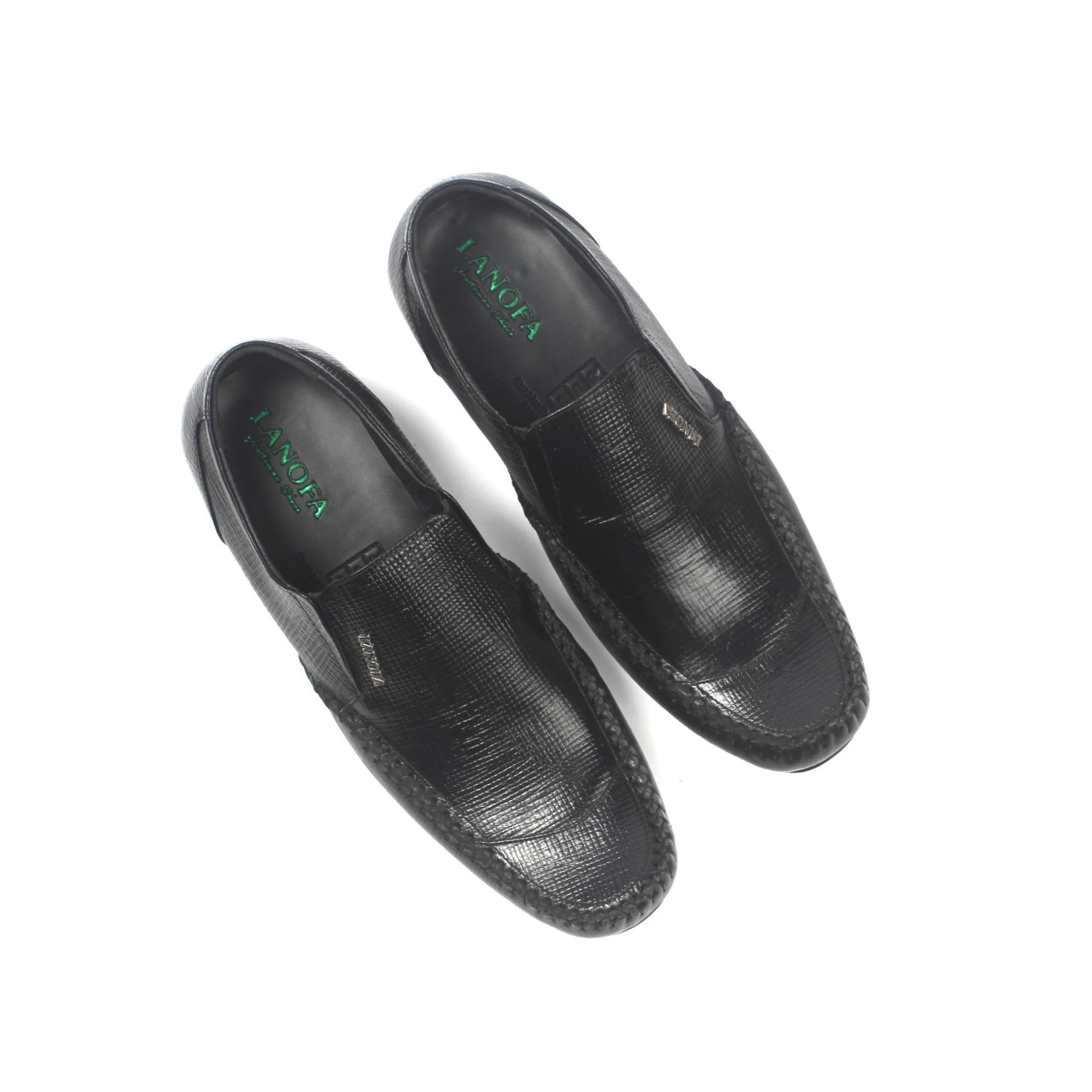 Promo Sepatu Kulit Pria Pantofel LANOFA1157 di jakarta