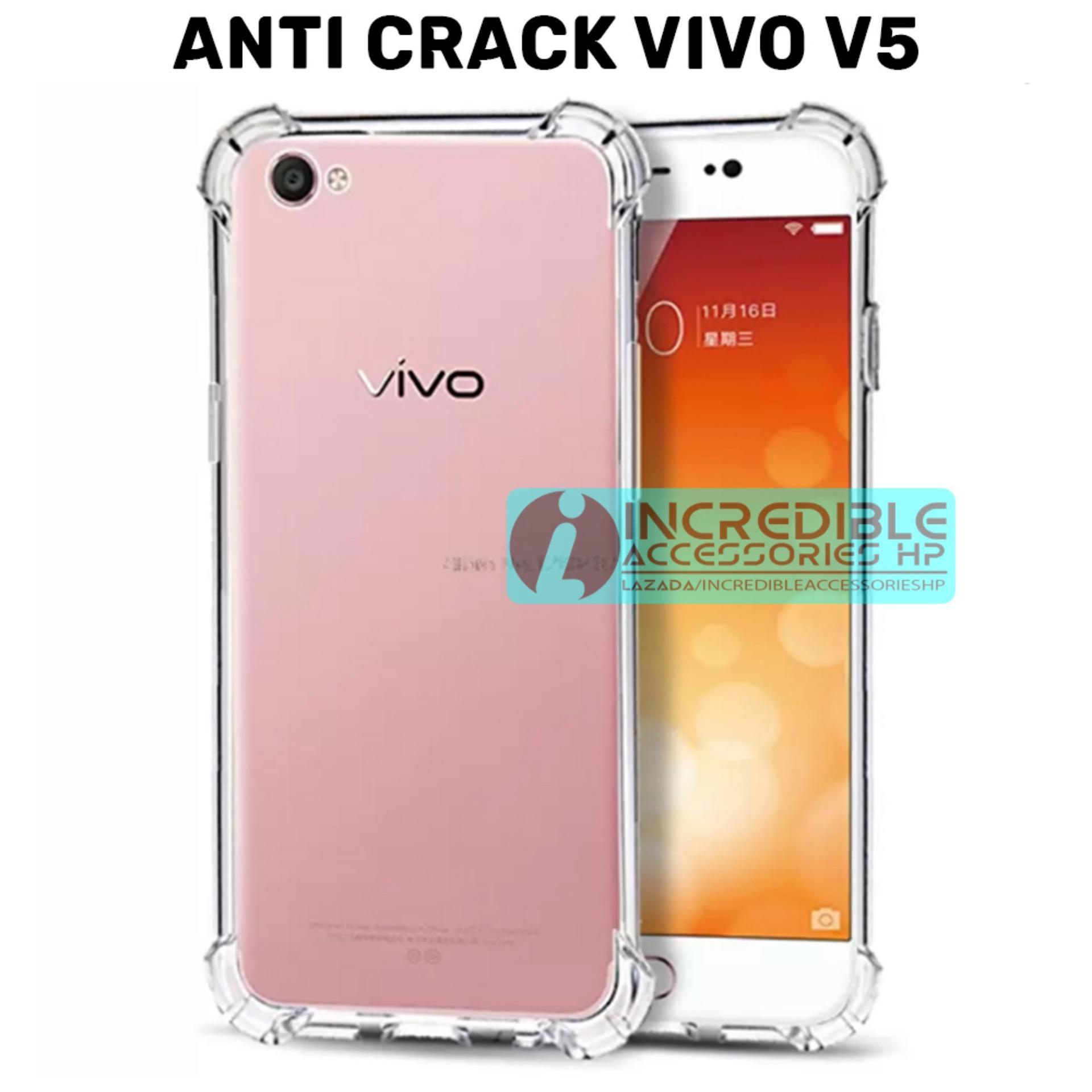 Case Anti Shock / Anti Crack Elegant Softcase for Vivo V5 (Y67) - White
