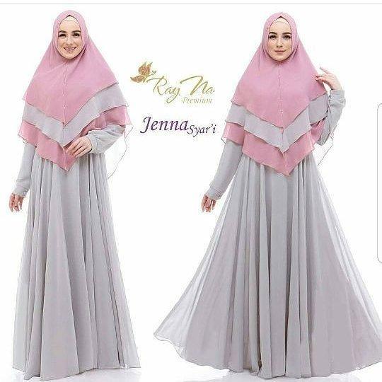 Murah Baju Muslim Original Gamis Jenna Syari Dress Baju Panjang