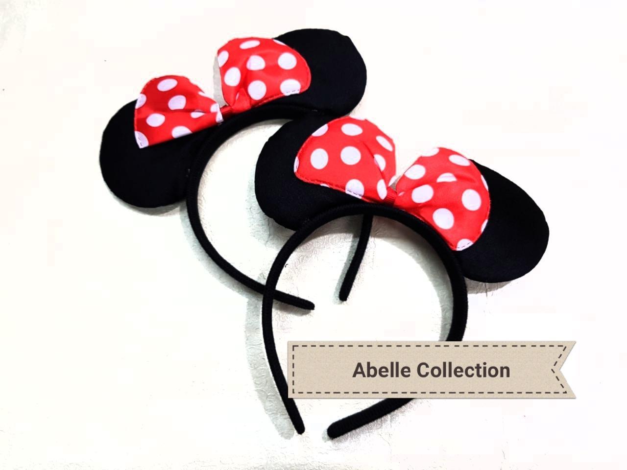 1 ( SATU ) PCS Bando MICKEY MOUSE bando ACCESORIES aksesoris rambut pita Mickey Mouse Miki Tikus Murah Berkualitas - 149