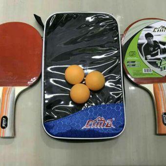 Bet Tenis Meja Pingpong Bat Cima Isi 2 Pcs Free Bola By Elhaza Store.