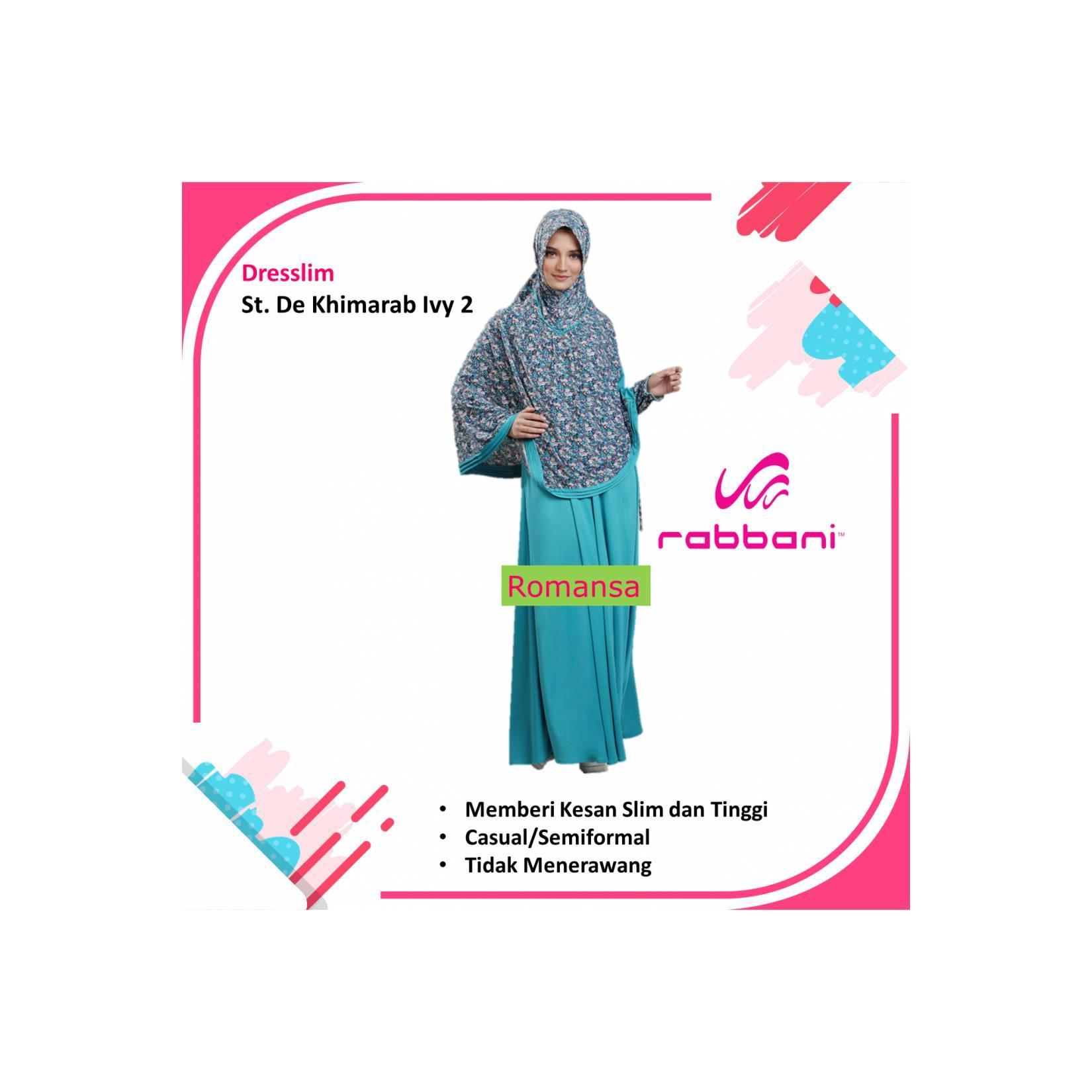 Baju Muslim Gamis RABBANI - Navy