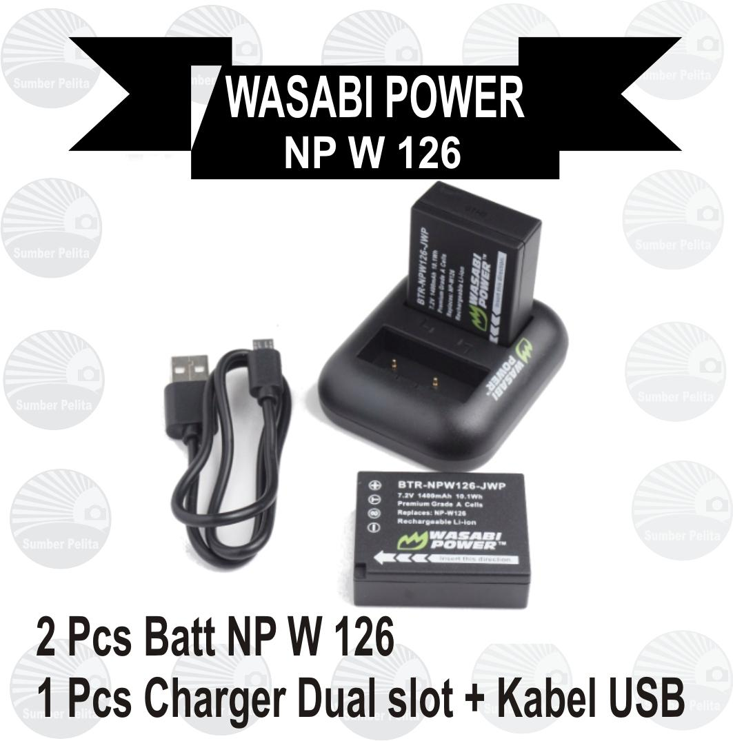 Jual Beli Wasabi Battery Sony Np Fw50 Alpha Harga Rp 299000 Power 2 Pack And Charger For Kit Fujifilm W 126