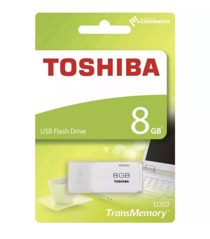Flashdisk Toshiba 8GB Hayabusa Flash Drive Flash Disk