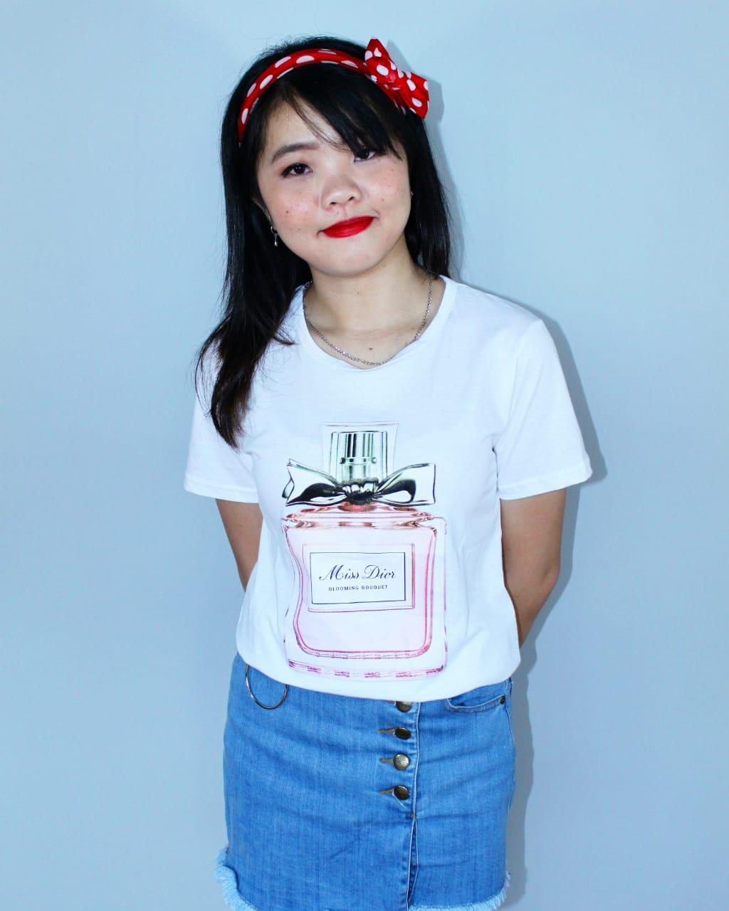 LOLILE KAOS MISS DIOR ALL SIZE FIT TO L