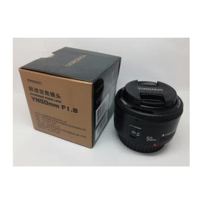 Best Seller LENSA YONGNUO 50MM F1.8 FIX LENS FOR CANON AF-S Auto Fokus