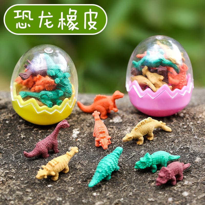 Penghapus Kartun Telur Dinosaurus Penghapus Imut