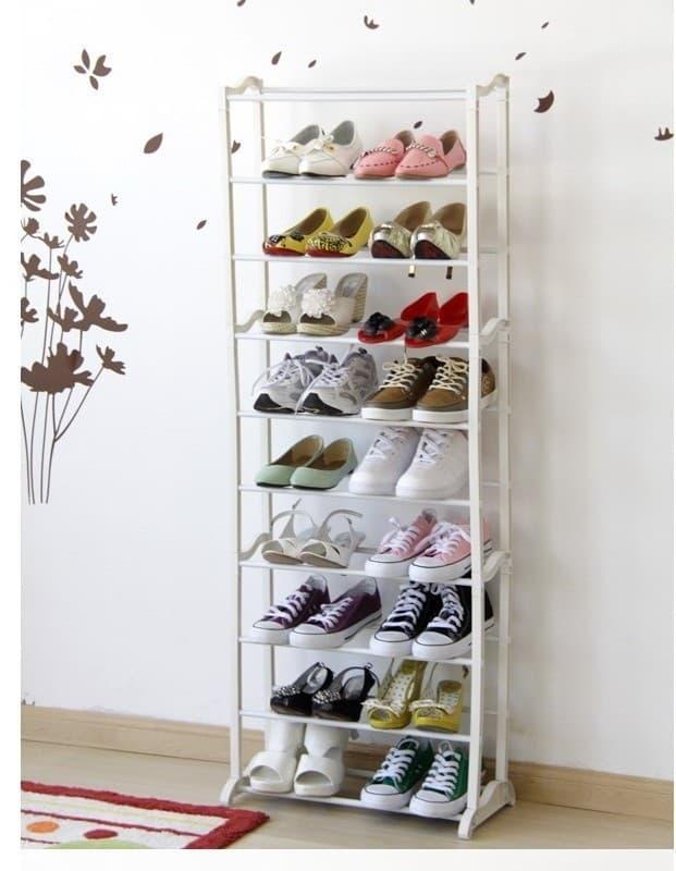 [PROMO TERMURAH]  Amazing Shoes rack 10tingkat (Rak Sepatu ajaib)  // Lemari Pakaian / Kayu / Portable / Anak / Kayu Jati / Plastik Murah / Plastik Portable / Plasting Gantung / Sliding / Bayi