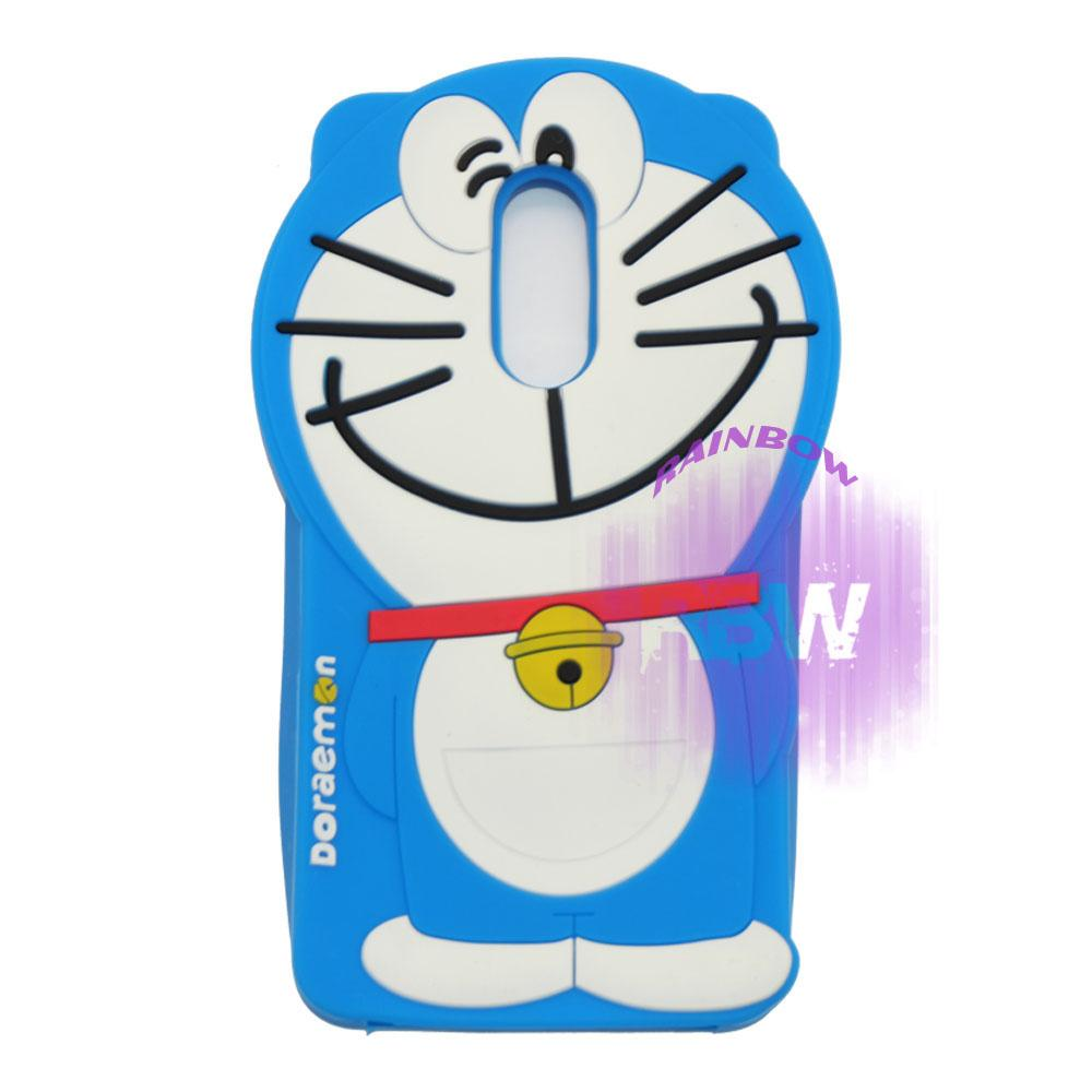 Rainbow Silicone 3D Case Xiaomi Redmi 5 Plus / Soft Case Boneka Lucu / Casing Doraemon Xiaomi Redmi 5 Plus / Case Hp / Silikon Casing / Casing Xiaomi Redmi 5 Plus - Doraemon Biru