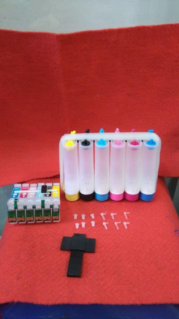 Buy Sell Cheapest Tabung Infus Modif Best Quality Product Deals 4 Warna Box Hitam Dengan Kunci Ciss 1390 T60 40catried Epson 41