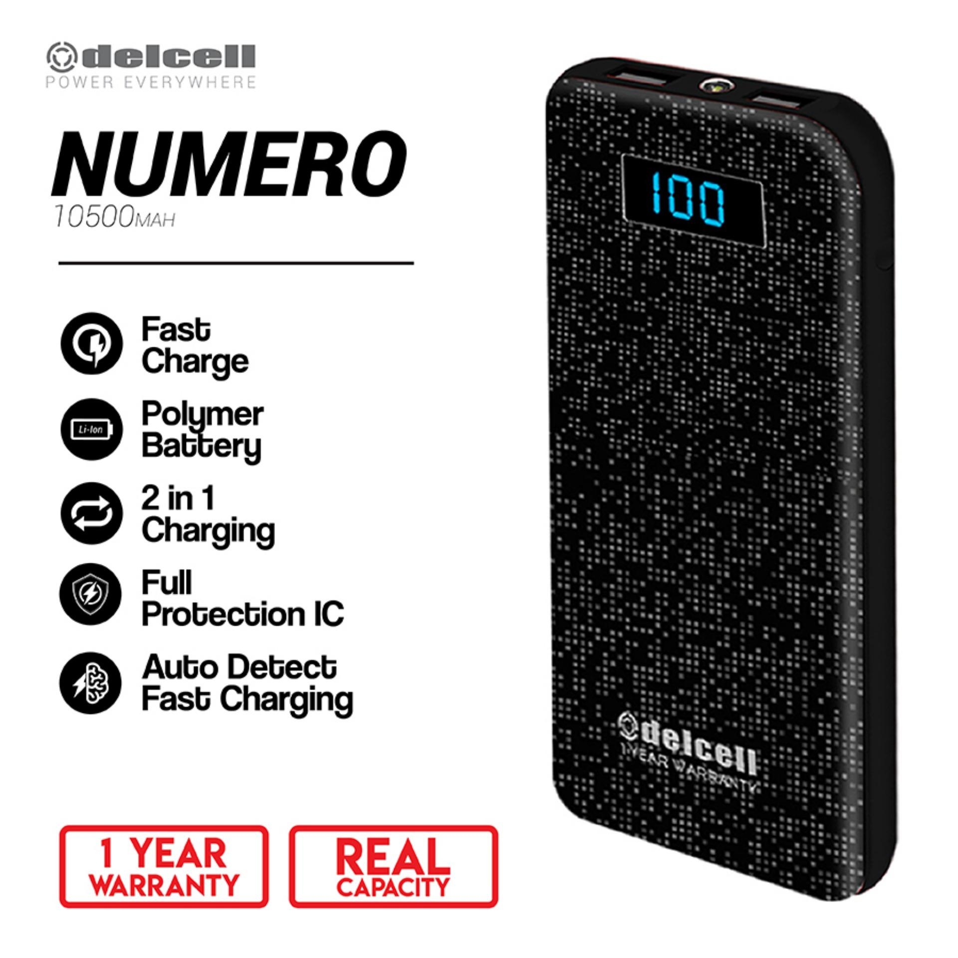 Jual Power Bank Terbaru Silicone Case Xiaomi Powerbank 5000 Mah Hitam Delcell 10500mah Numero Real Capacity Digital Display Slim Fast Charging Polymer Battery Garansi Resmi