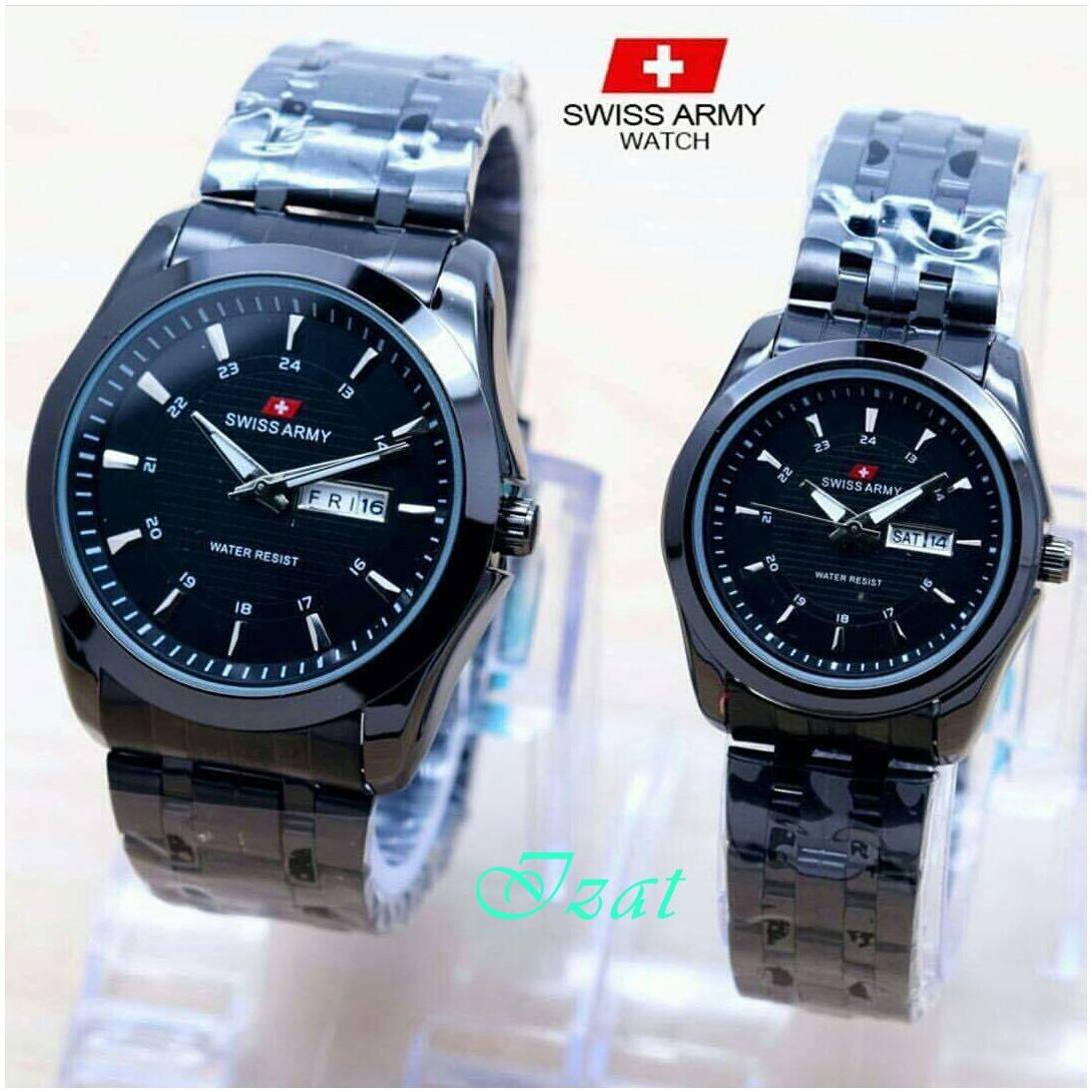 Swiss Army Jam Tangan Couple Yang Trendy Ter Baru