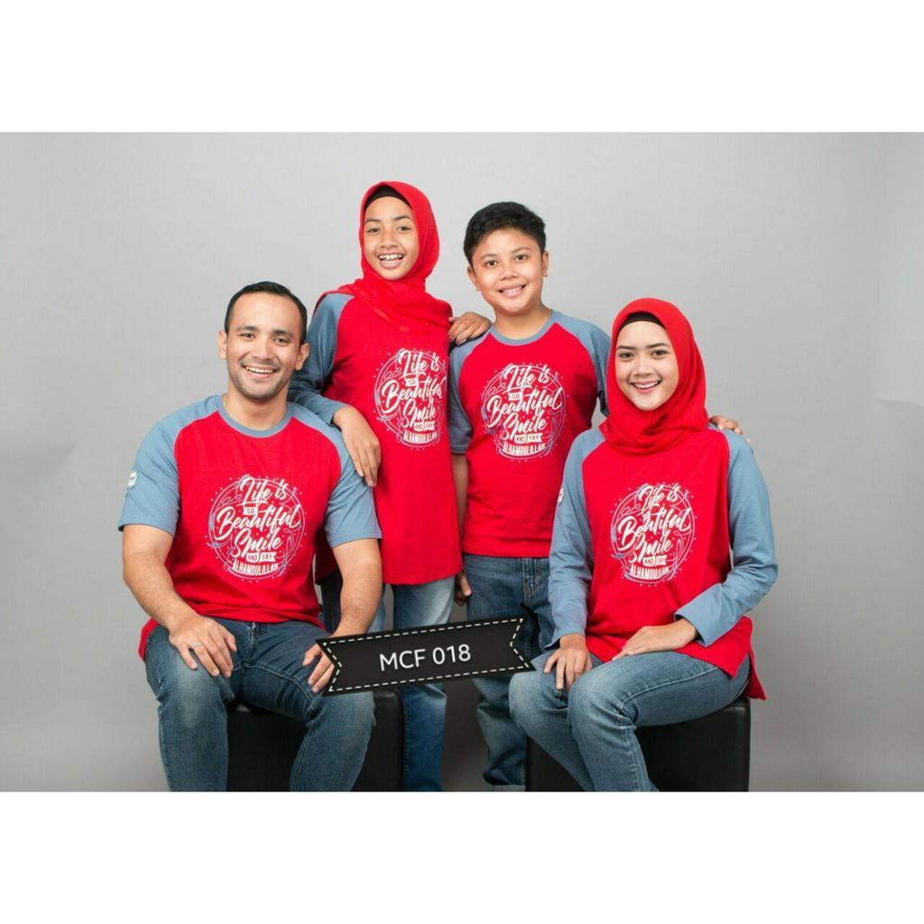 Baju Muslim Kaos Keluarga (Kaos Dewasa laki XL)