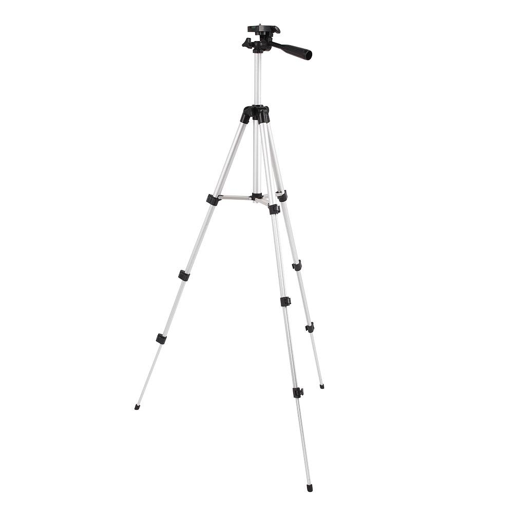 Camera Tripod Triangular Scaffold Durable 360 Degrees Ball Head 1/4 Inch Screw DV Panoramic