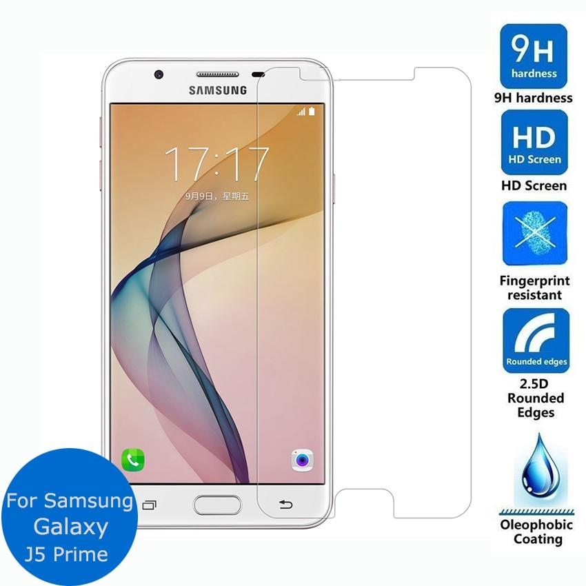 Tempered Glass For Samsung Galaxy J5 Prime Anti Gores kaca Screen Protector Qulaity HD