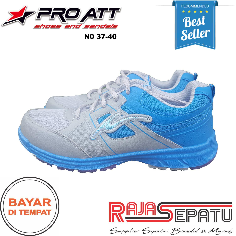 RAJASEPATU - PRO ATT Sepatu Wanita Sneakers Murah LG Merah Muda Original / Sepatu Wanita Sporty