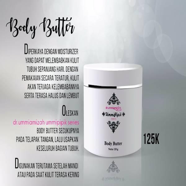 Body Butter Produk Ummi Pipik Series