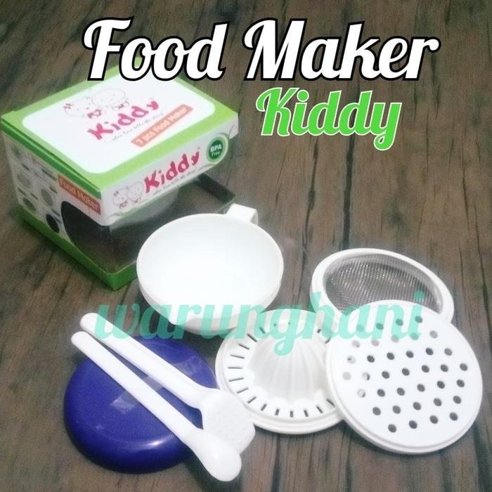 Feeding Set Peralatan Makan Bayi - Kiddy Food Maker 7pc By Audrey Babyshop.