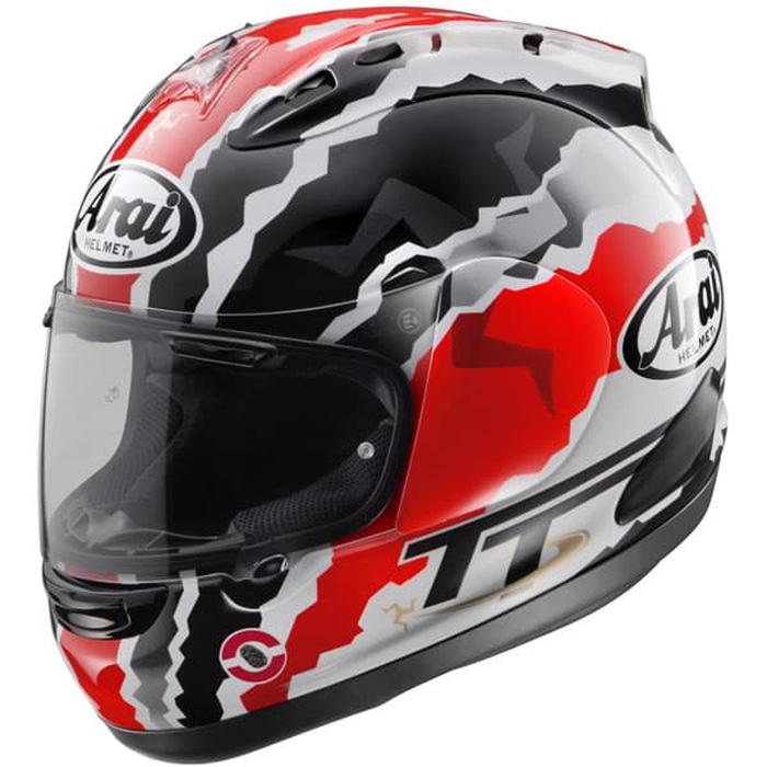 Arai RX7X Doohan TT Original Helm Full Face - Graphic Black White