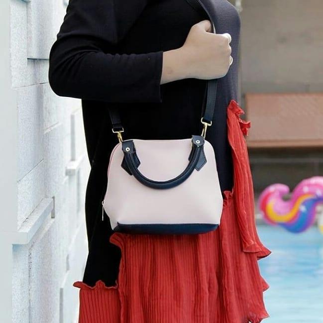 Tas Wanita Sling Bag Miniso Avril Comby
