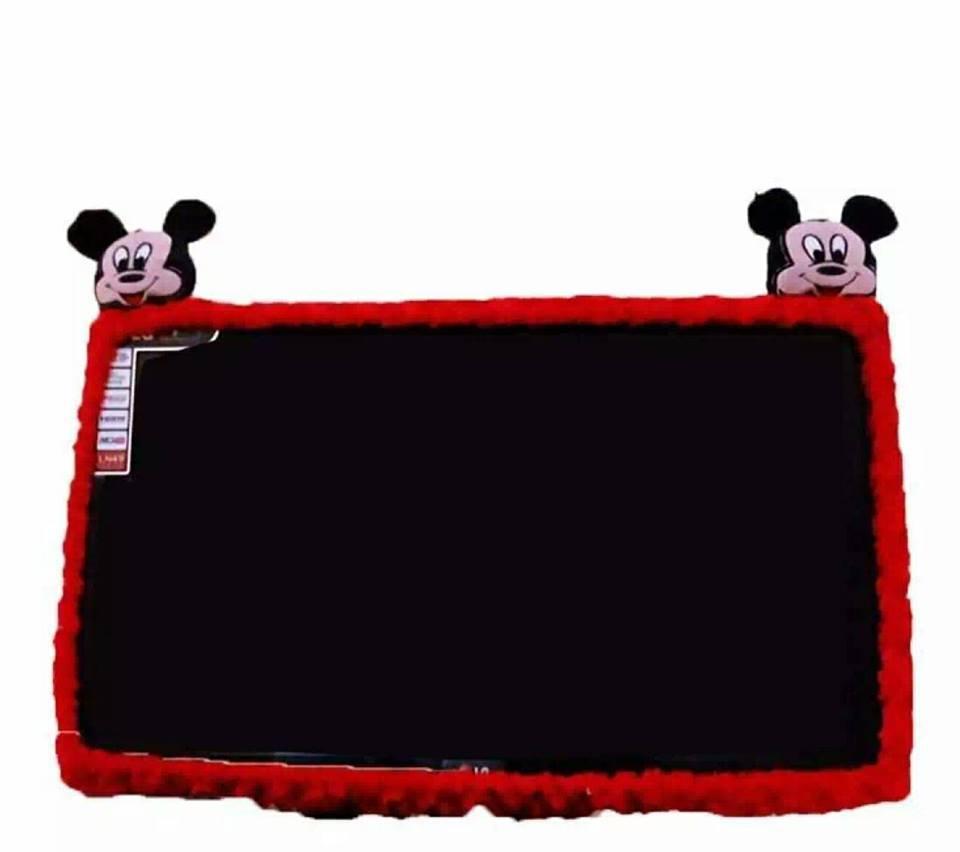 Bando / Cover / Sarung / Bandana / List TV Karakter MICKEY MOUSE LCD LED 21