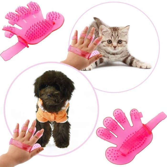 Pet Wash Brush Sisir Binatang - Pijat Binatang By Gogo Shop.